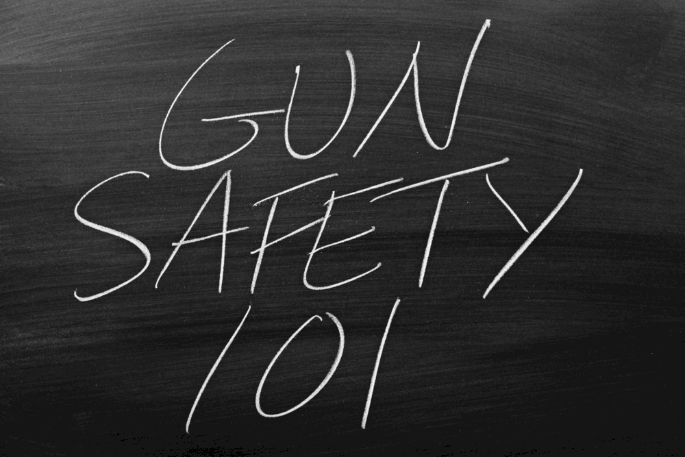 4 golden rules of gun safety