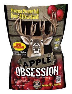 apple obession deer food