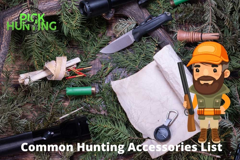 common hunting accessories list